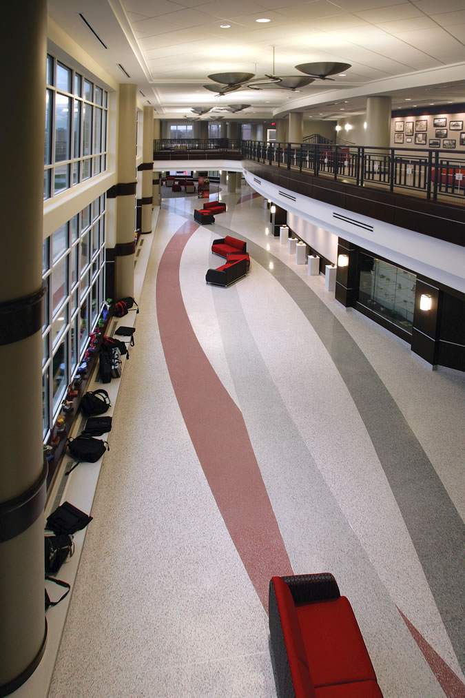 Terrazzo Project - education - Chaminade High School - St. Louis, Missouri