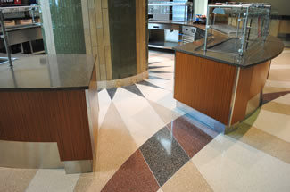 Terrazzo Project - medical - Parker Adventist Hospital - Parker, Colorado