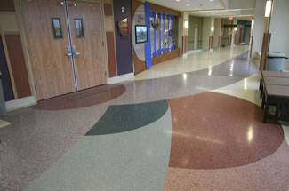 Terrazzo Project - medical - Benefits Healthcare Patient Tower  - Great Falls, Montana
